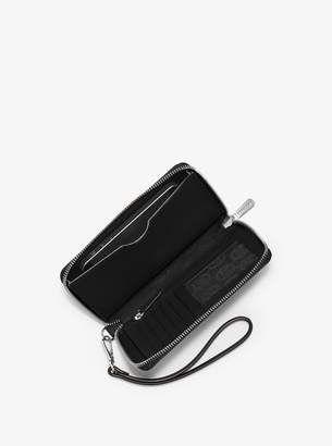 cfdaf3a351c3 Michael Michael Kors Jet Set Travel Large Saffiano Leather Smartphone  Wristlet