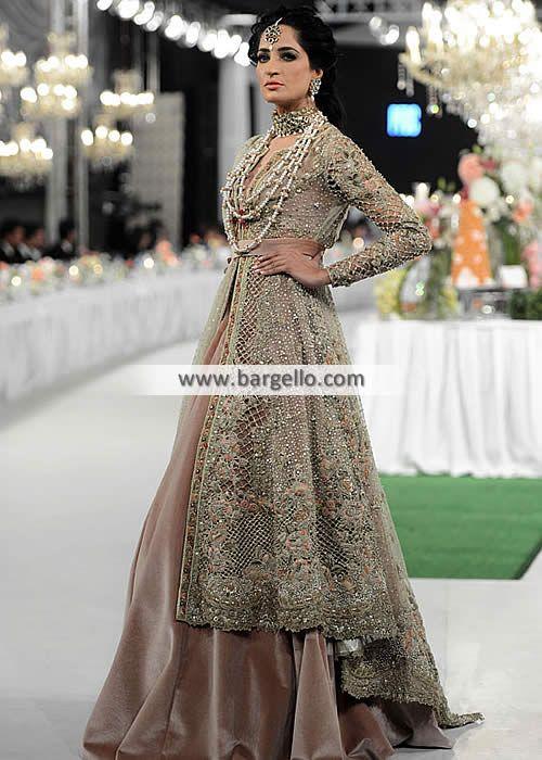 Best 25 pakistani bridal dresses ideas on pinterest for Pakistani designer wedding dresses