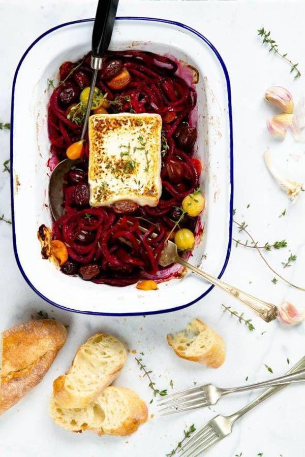 Spaghettis de betterave / recette minceur / healthy food