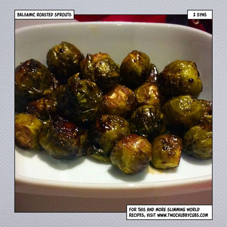 this low syn balsamic roasted sprouts recipe is a tasty and easy way to up your speed intake - it works well as both a side and a snack and tastes fantastic! Remember, at www.twochubbycubs.com we post a new Slimming World recipe nearly every day. Our aim is good food, low in syns and served with enough laughs to make this dieting business worthwhile. Please share our recipes far and wide! We've also got a facebook group at www.facebook.com/twochubbycubs - enjoy!