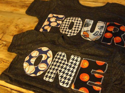 Sports Birthday Shirt Baseball Basketball by lilthreadzclothing