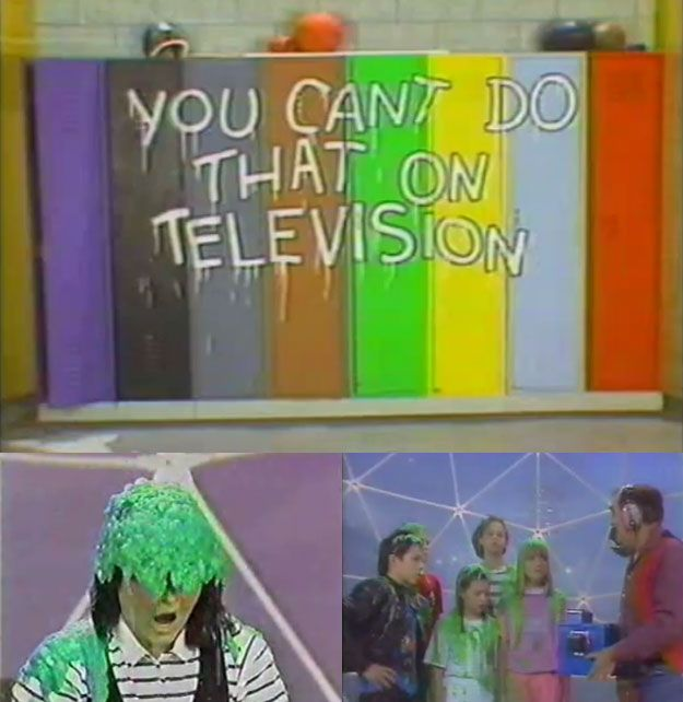 You remember a young Alanis Morissette on You Can't Do That on Television (and the show kinda creeped you out a little bit but you couldn't stop watching). | 53 Things Only '80s Girls Can Understand