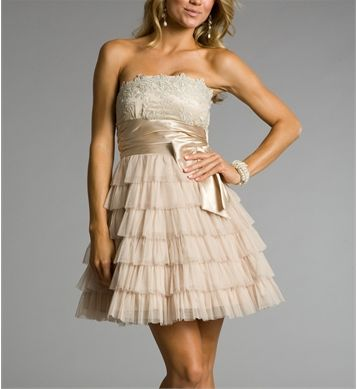 Betsy- Blush Prom Dress