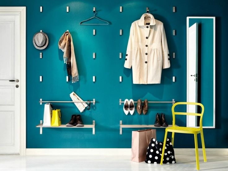 ikea hallway furniture. bjrnum folding hooks grundtal rails and wall shelves for the entrance hallway ikea furniture a
