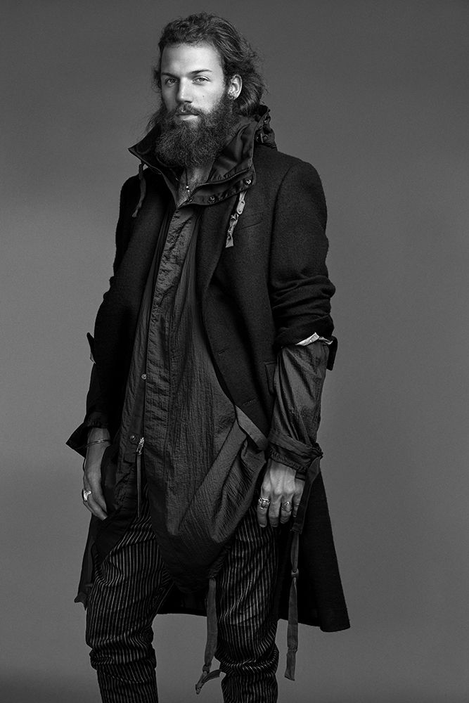 Phil Sullivan Brings Rugged Attitude to At Large Fashion Spread