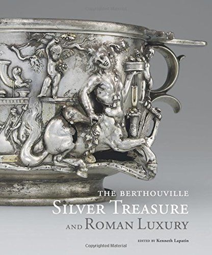 The Berthouville Silver Treasure and Roman Luxury - In 1830 a farmer plowing a field near the village of Berthouville in Normandy, France, discovered a trove of ancient Roman silver objects weighing some 55 pounds (25 kilograms). The Berthouville treasure, as the find came to be known, includes two statuettes representing the Gallo-Roman god Mercury and approximately sixty vessels—bowls, cups, pitchers, and plates,