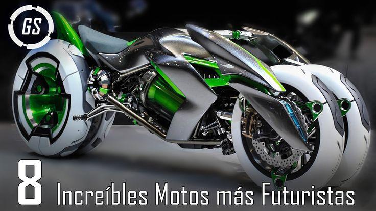 Top 8 Increíbles Motos Más Avanzadas Del Mundo En este vídeo Hablaremos sobre las Increíbles Motos o Motocicletas Más Avanzadas Del Mundo (Prototipos). Algun...