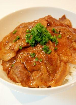 おうちで簡単☆北海道帯広名物♪豚丼 レシピ・作り方 by すたーびんぐ|楽天レシピ