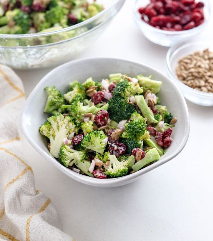 Broccoli Salad Recipe No Mayo