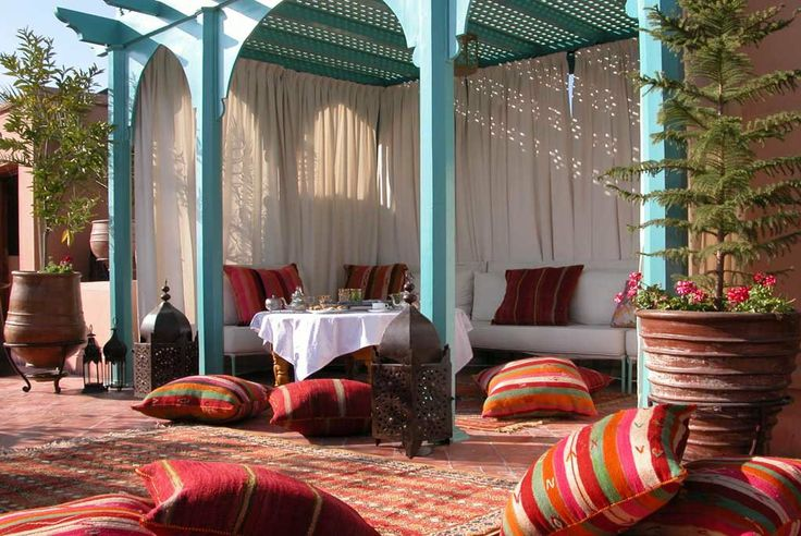 Home Wall Decoration Moroccan Garden Design Bebe