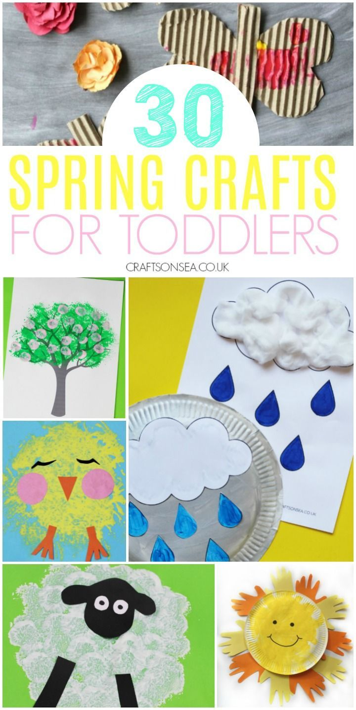 Easy And Fun Spring Crafts For Toddlers