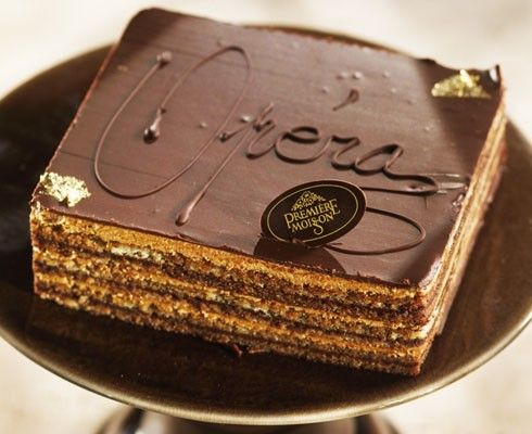 Opéra. I LOVE Opéra cake!! It has been one of my favorites since pastry school, and it was delicious in Paris :).
