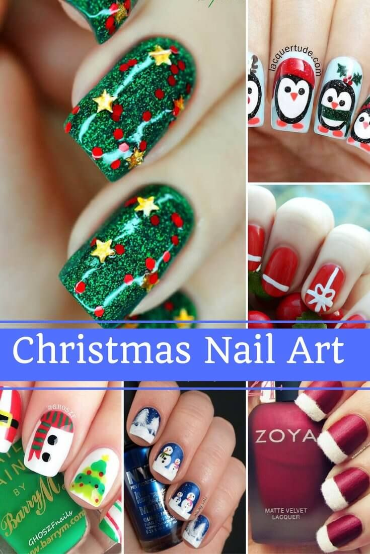 32 best christmas nail art designs and ideas images on pinterest