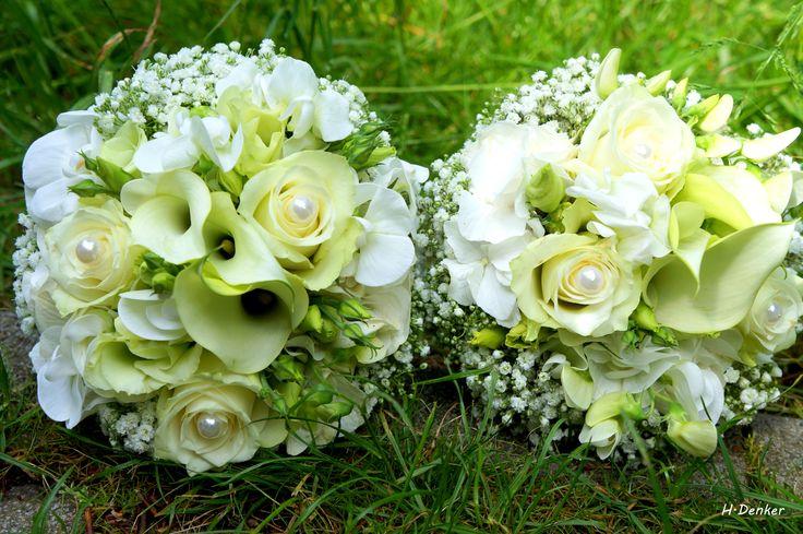 Brautstrauß Weiß