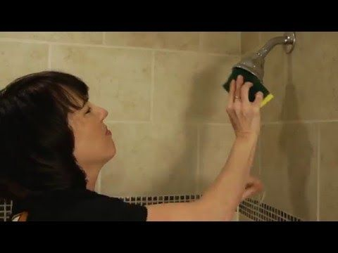 how to clean very dirty plastic shower