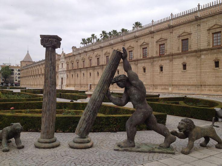 La sede de la Junta de Andalucia...