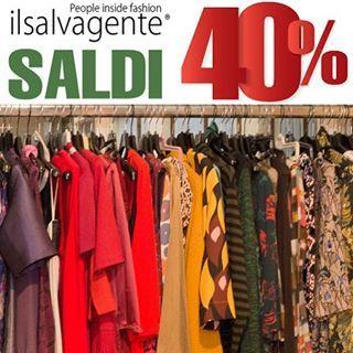 Da venerdì 12 Gennaio SCONTO 40% su tutto⚡️domenica siamo aperti 🛍🛍🛍🛍🛍 #svgt #happy #shopping #store #milano #fashion #outlet #shop #online #40 %#off