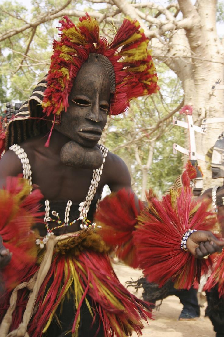 Dogon dancer.  Mali, © Jim Zuckerman