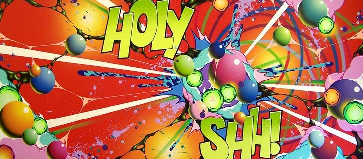 Andrew McAttee - Holy Shh! on www.eyestorm.com