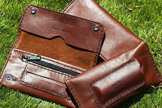 Deadskin Leather Tobacco Pouch $80AUD