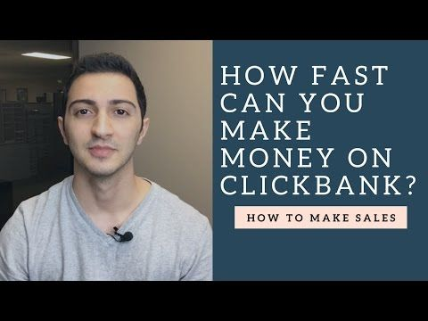 Clickbank Affiliate Marketing Training - How to Make Money on Clickbank
