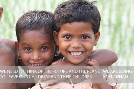 Kofi Annan - Global Poverty Project