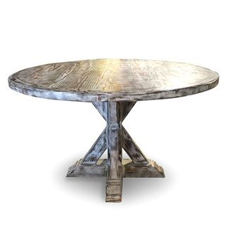 Overstock com   La Phillippe Reclaimed Wood Round Dining Table   The La  Phillippe. 54 best images about Dining Tables on Pinterest   Gray dining