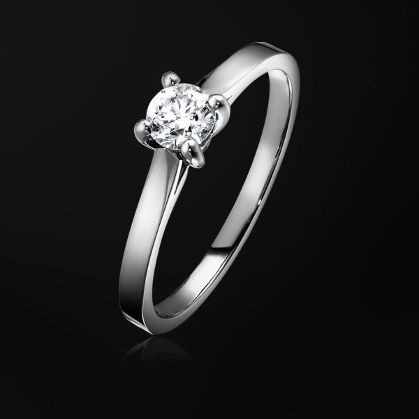 Bague de fiançailles Diamant Platine - Piaget Mariage G34LK300