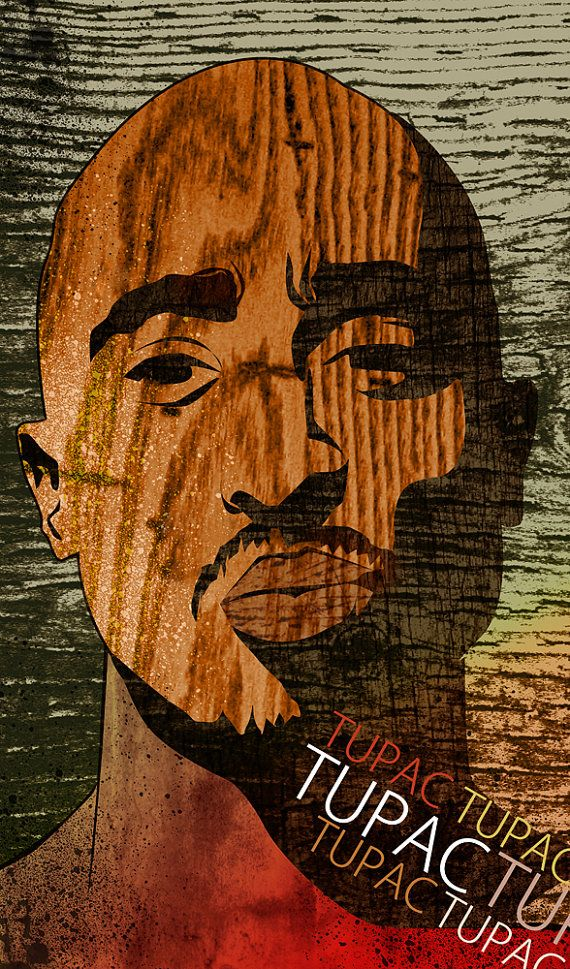 Tupac Poster by dosecreative on Etsy