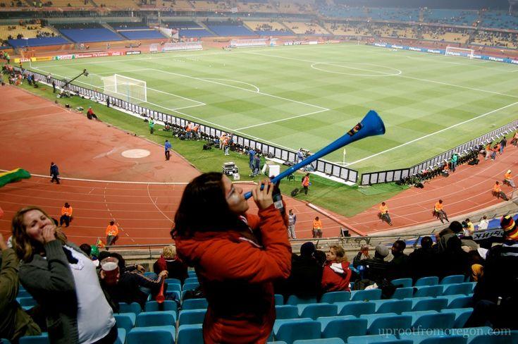 FIFA World Cup 2010: USA vs Ghana - Rustenburg, South Africa