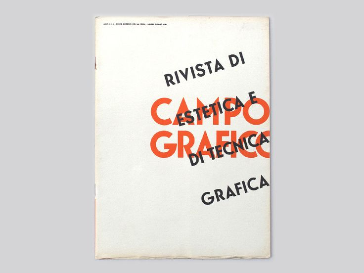 Display | Campo Grafico 1933 6 | Collection
