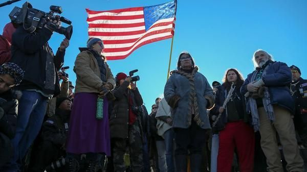 """Army hands victory to Standing Rock protesters,says it won't allow Dakota Access pipeline in disputed area. In a statement, Archambault expressed """"the utmost gratitude for the courage it took on the part of President Obama, the Army Corps, the Department of Justice and Department of the Interior to take steps to correct the course of history and to do the right thing.The Standing Rock Tribe and all of Indian Country will be forever grateful to the Obama administration for this historic…"""