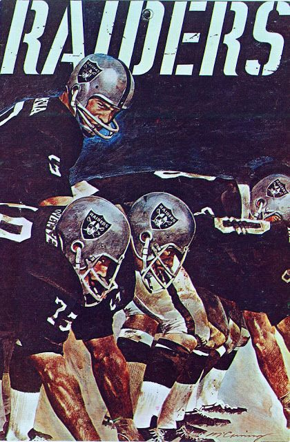 Pro Football Journal  1968 AFL and NFL Poster Series by Hoyle ... 64033bfb59a9a