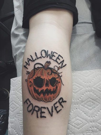 halloween body tattoos