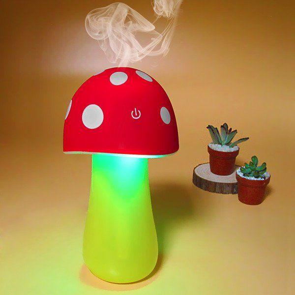 Mushroom Humidifier Night Light