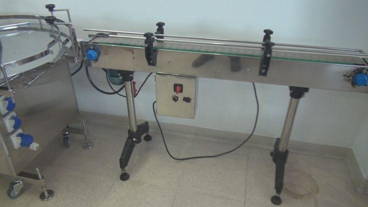 Metalmecanica Como se hace cinta transportadora con velocidad variable HD