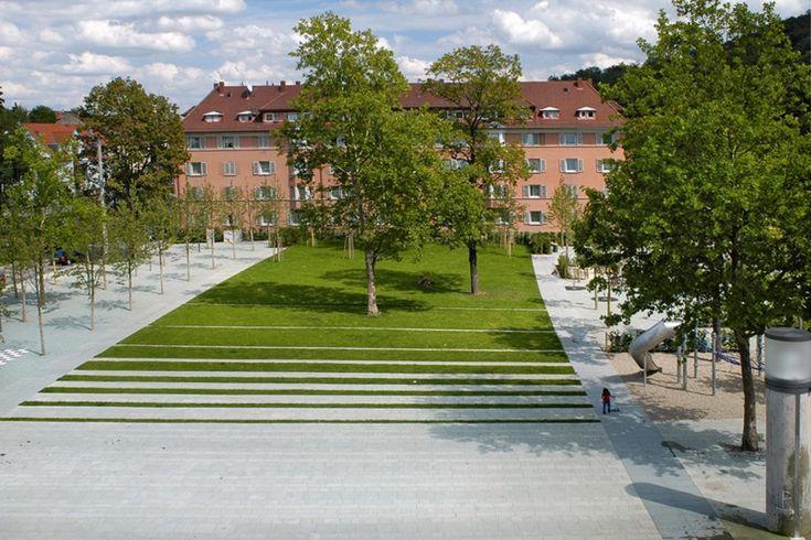 Umgestaltung Südheimer Platz Stuttgart
