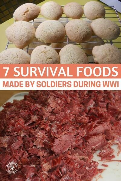 7 Survival Foods Made by Soldiers During WWI - What this article focuses on are the battalion kitchens and their fight to feed the men on the front lines. These were kitchens on wheels and the were attacked in the same ways that the fighting forces were. #survival #survivalfood #preparedness #prepper #prepping