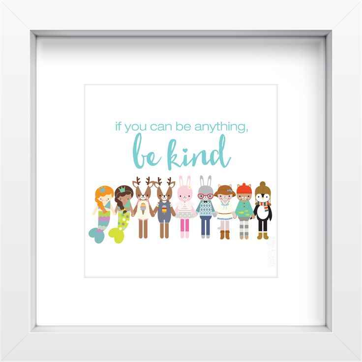 Cuddle and Kind inspirational print feeds 5 meals gifts that give back environmentally friendly art nursery children family decor