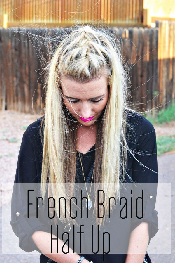 Amazing 1000 Ideas About Braided Half Up On Pinterest Half Up Half Up Hairstyle Inspiration Daily Dogsangcom