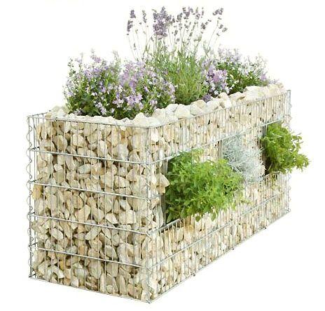 1000 id es sur le th me gabion wall sur pinterest murs de sout nement am nagement de jardin. Black Bedroom Furniture Sets. Home Design Ideas