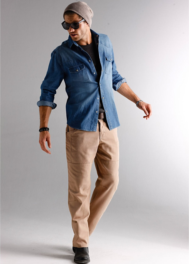 This jeans shirt is a must have!