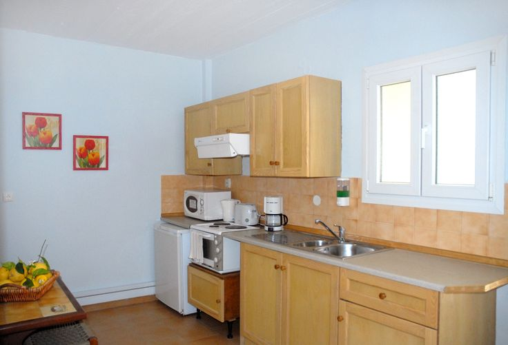 Kitchen Area of Spiti Prifti Two Bedroom Apartment