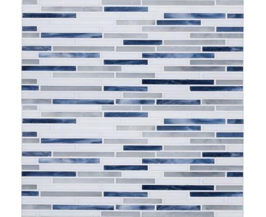 Kitchen Back Splash w/ Blue Pearl Granite Counter-tops ~ QualQuest*************
