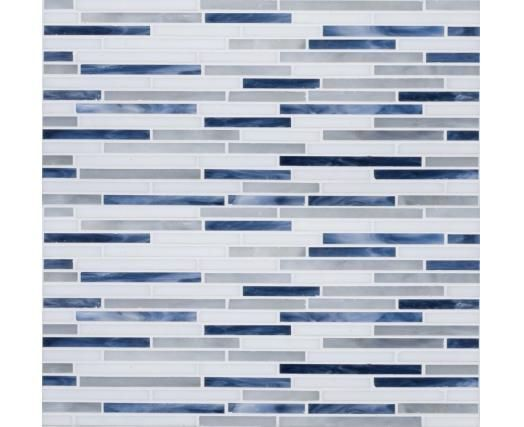 Like this as kitchen back splash with blue pearl granite countertops