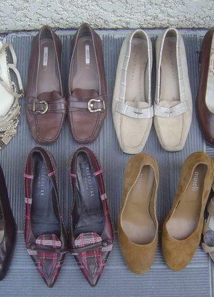 À vendre sur #vintedfrance ! http://www.vinted.fr/chaussures-femmes/talons-hauts-et-escarpins/38376384-lot-4-paires-chaussures-escarpins-sandales-cuir-pointure-37-minelli-jb-martin-geox-voir