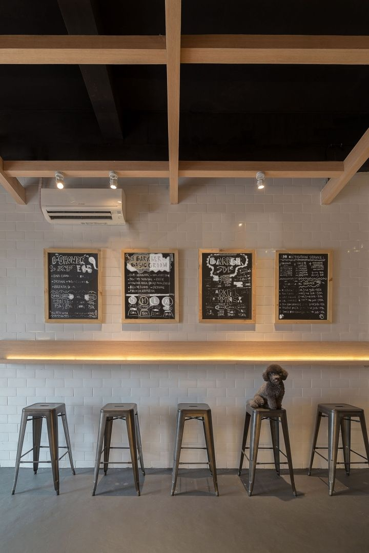 The Barkbershop Pet Grooming Studio & Cafe by Evonil Architecture, Jakarta – Indonesia » Retail Design Blog