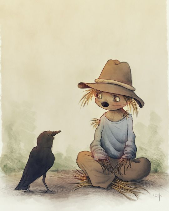 A scarecrow named Mommet, by Simon Howe.
