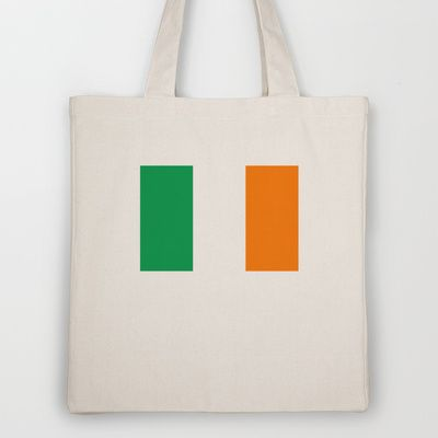 National flag of the Republic of Ireland - Authentic 3:5 Version Tote Bag