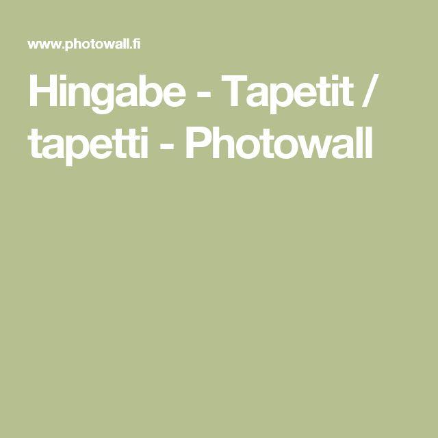 Hingabe - Tapetit / tapetti - Photowall